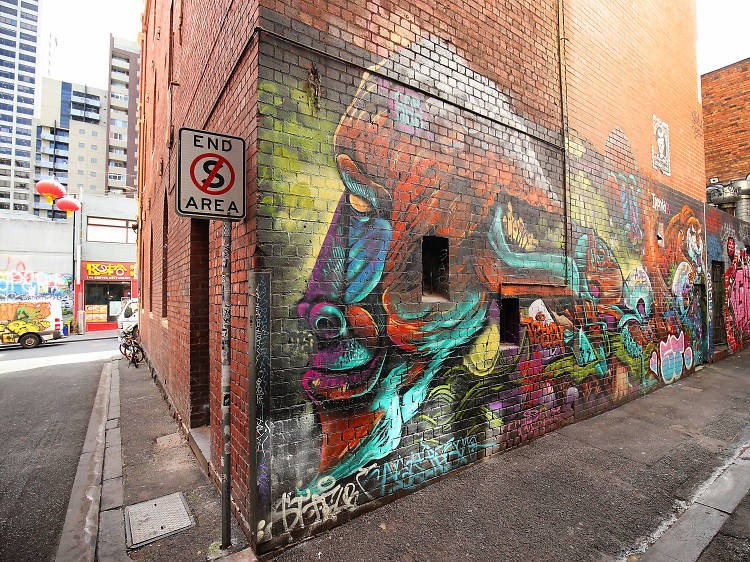 Croft Alley Melbourne - Street Art