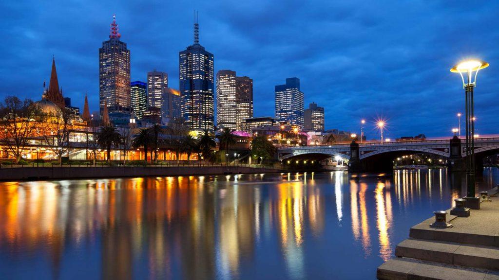 Melbourne city skyline: Melbourne is the world's most liveable city